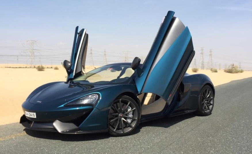 Rent McLaren 570s Cabrio in Dubai