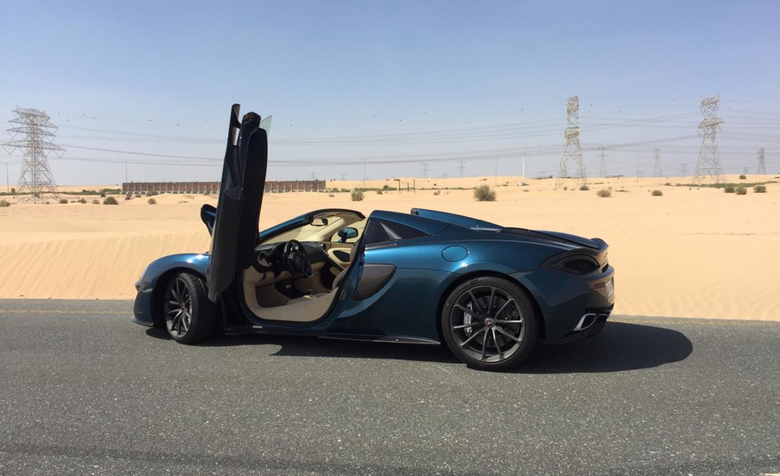 McLaren 570s Cabrio in Dubai (photo 2)