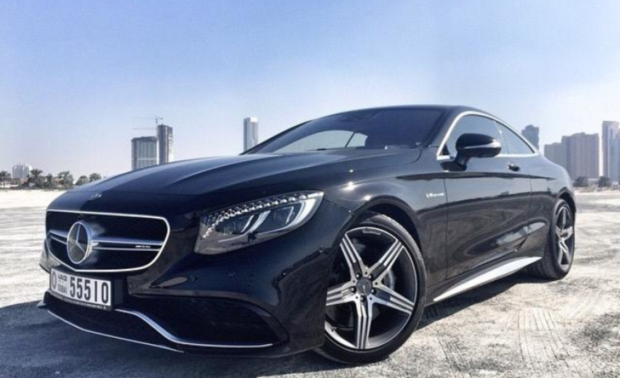Rent Mercedes-Benz S63 AMG in Dubai