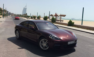 Rent Porsche Panamera 4S in Dubai