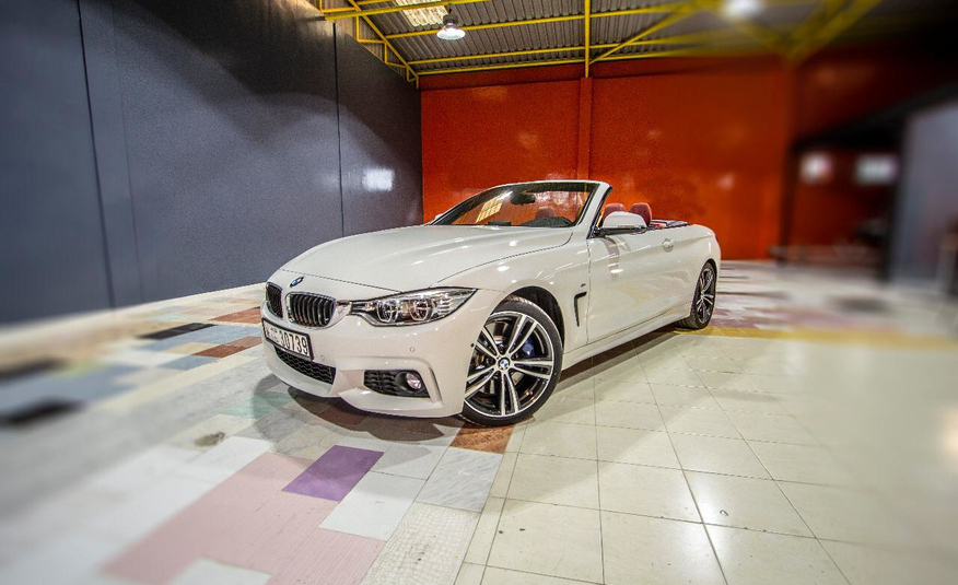 Rent Bmw 435 Cabrio in Dubai